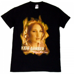 Katie Armiger Playin with Fire Black Tee